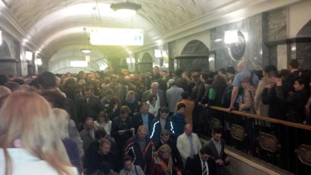 «Неизвестный предмет» вызвал сбой в московском метро