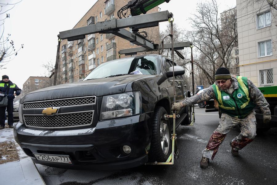 СМИ: В России появятся чёткие и прозрачные правила эвакуации автомобилей