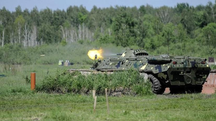 Активист: Ополченцы из Луганска в бою под Лисичанском отбили у армии Украины пять БМП