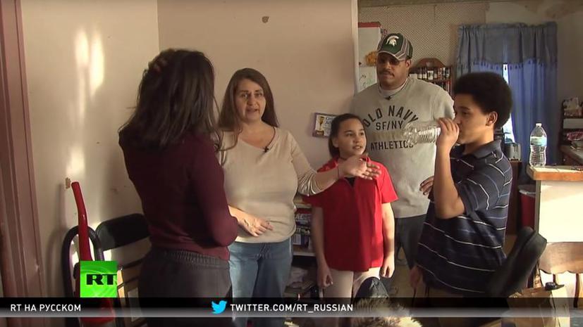 Жителей американского города Флинт травят ядовитой водой