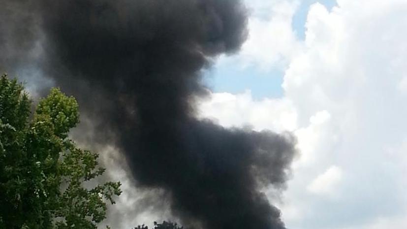 Авиакатастрофа в США: частный самолет спикировал на поселок