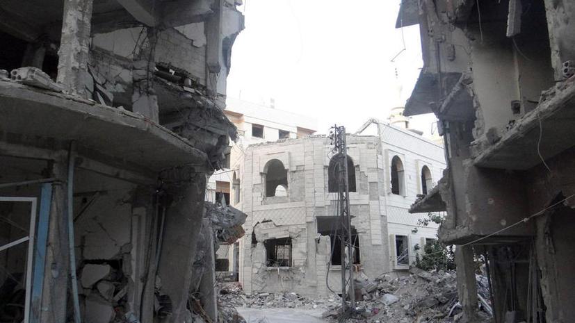 СМИ: Решение США о поставках оружия сирийской оппозиции было принято давно