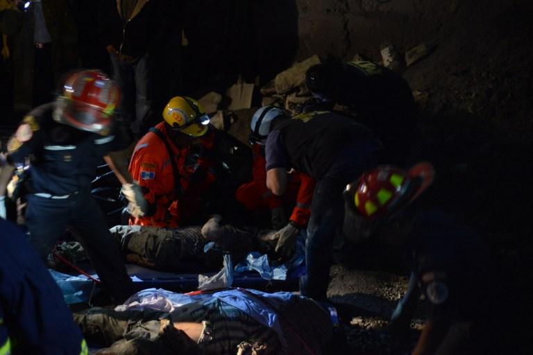 Десятки человек стали жертвами землетрясения в Гватемале