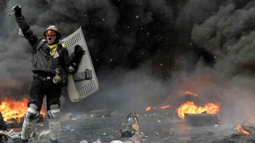Беспорядки на Украине в фотографиях пользователей соцсетей