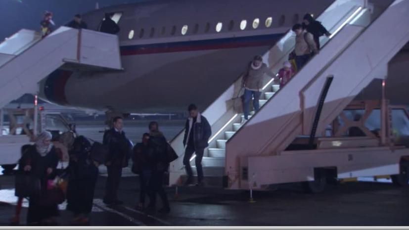 Самолёт с гражданами РФ и других стран, покинувшими Йемен, приземлился в Москве