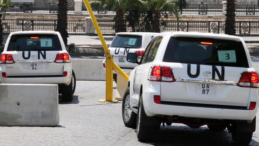 Инспекторы ООН будут вывозить химическое оружие из Сирии в экстремальных условиях