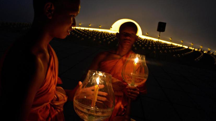 Тайских монахов уличили в употреблении наркотиков