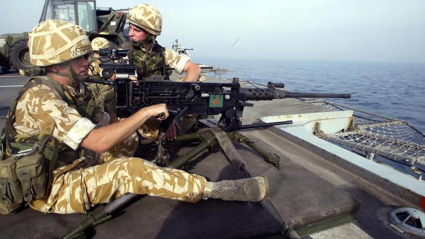 Доклад: британский флот готовится взять Персидский залив под контроль