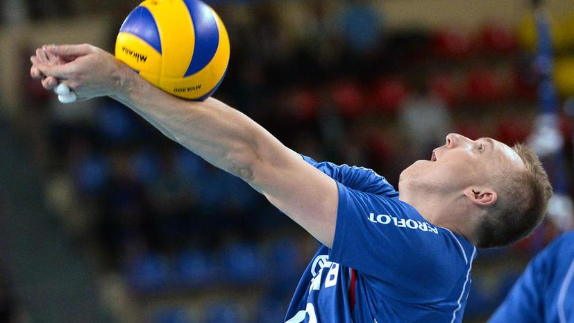 Российские волейболисты победили в Мировой лиге, обыграв в финале Бразилию