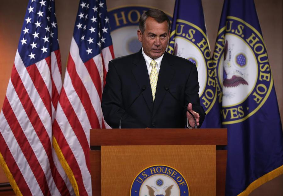 Конгрессмены-республиканцы подают в суд на президента США Барака Обаму