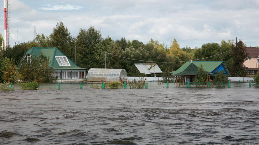 На помощь пострадавшим от наводнения выделят 12 млрд рублей из резерва