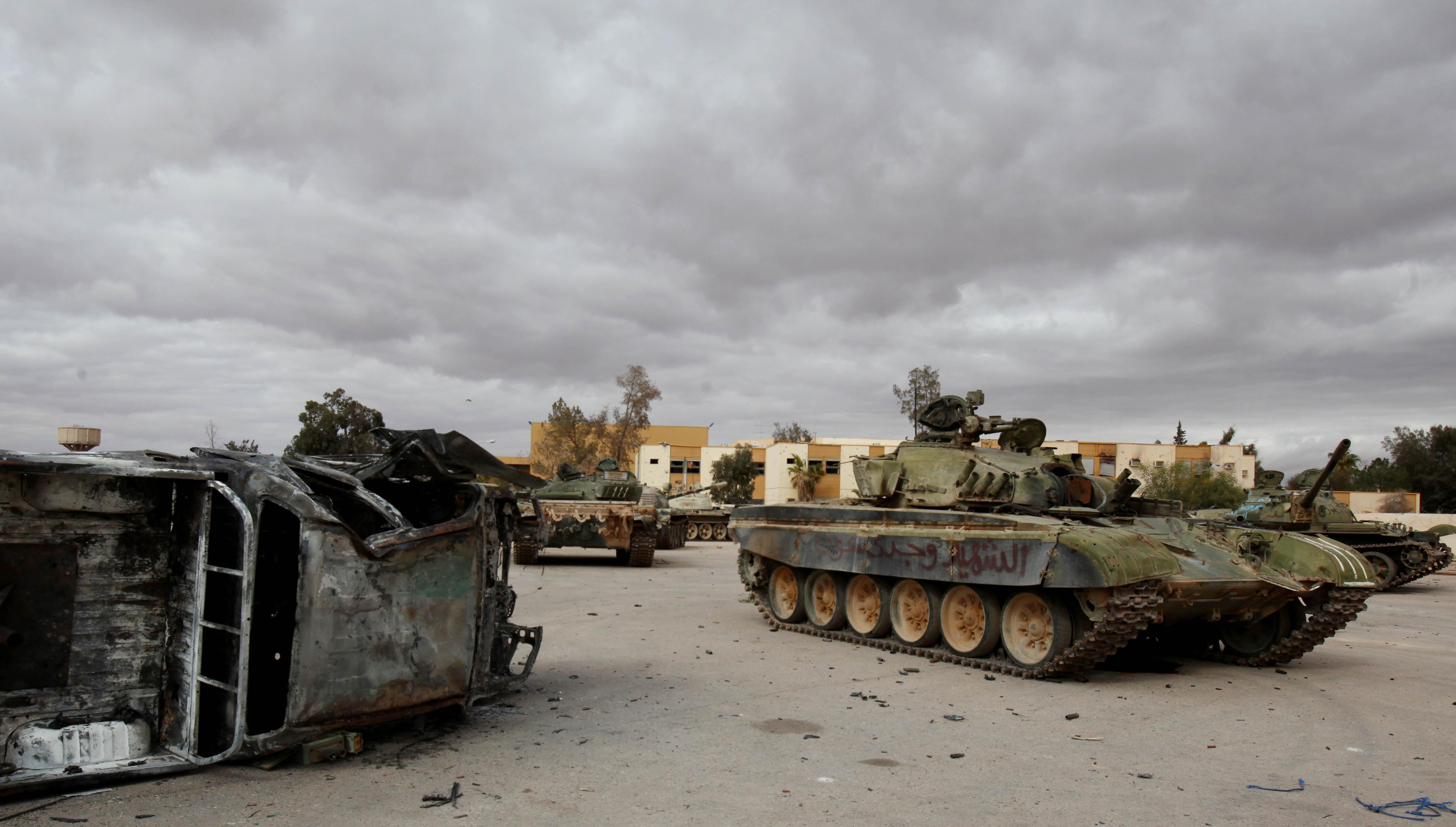 Осада Бени-Валида: город повергнут в хаос