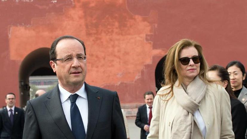 Спутница Олланда обходится Франции втрое дешевле жены Саркози