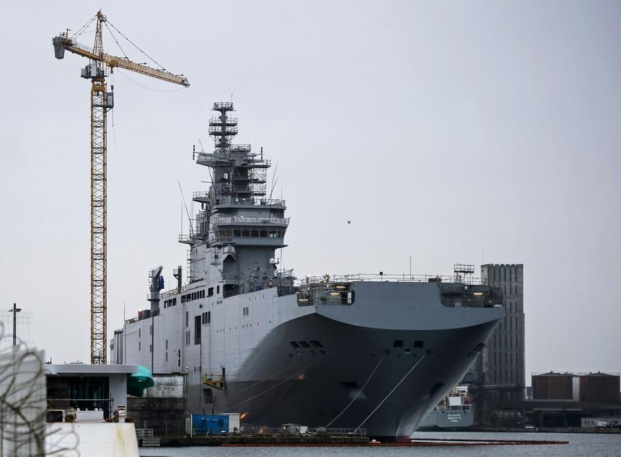 Россия официально обратилась к Франции за разъяснениями причин срыва поставки «Мистраля»