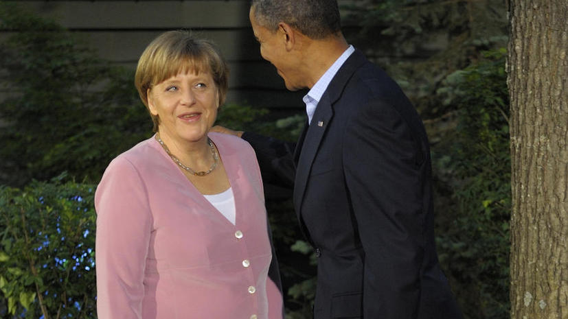 Меркель поставит перед Обамой вопрос о тотальной слежке спецслужб США за интернет-пользователями