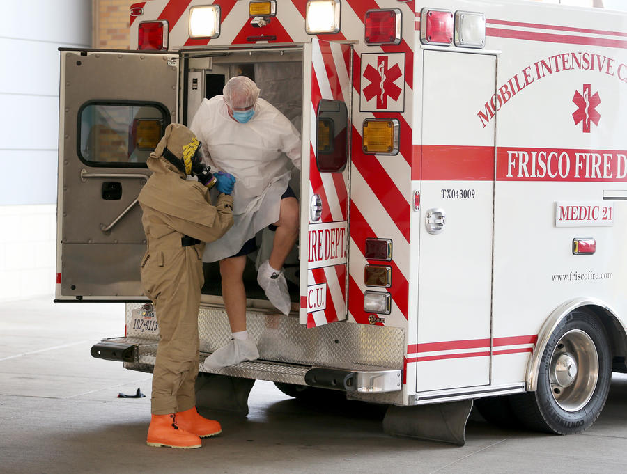 В США компетенцию врачей проверяют с помощью актёров, имитирующих симптомы лихорадки Эбола