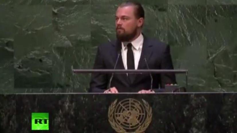 Леонардо Ди Каприо: К проблеме климата нельзя подходить, как к актёрской игре