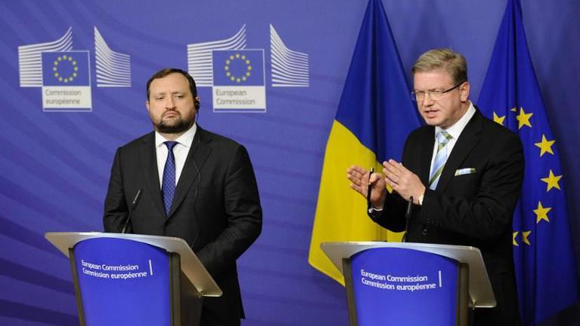Еврокомиссар Штефан Фюле осудил захват зданий на Украине
