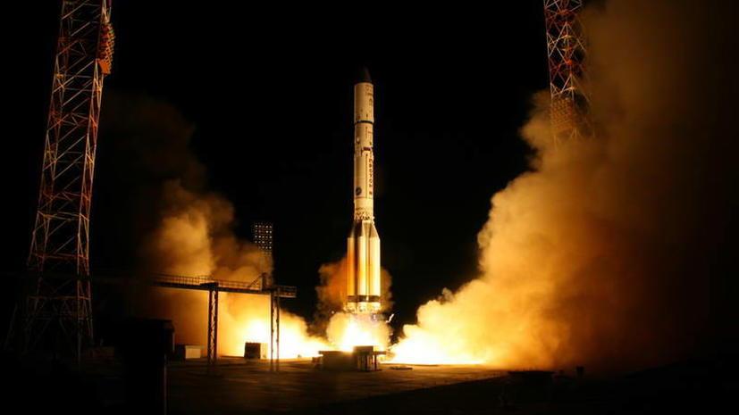 Впервые после майской аварии ракета «Протон-М» стартовала с космодрома Байконур