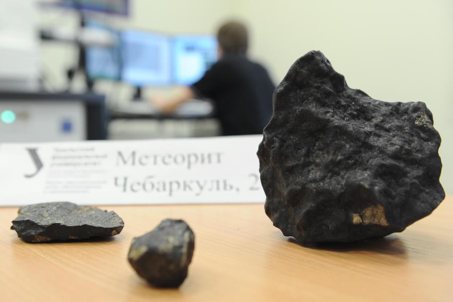 Учёные: челябинский метеорит оплавило Солнце