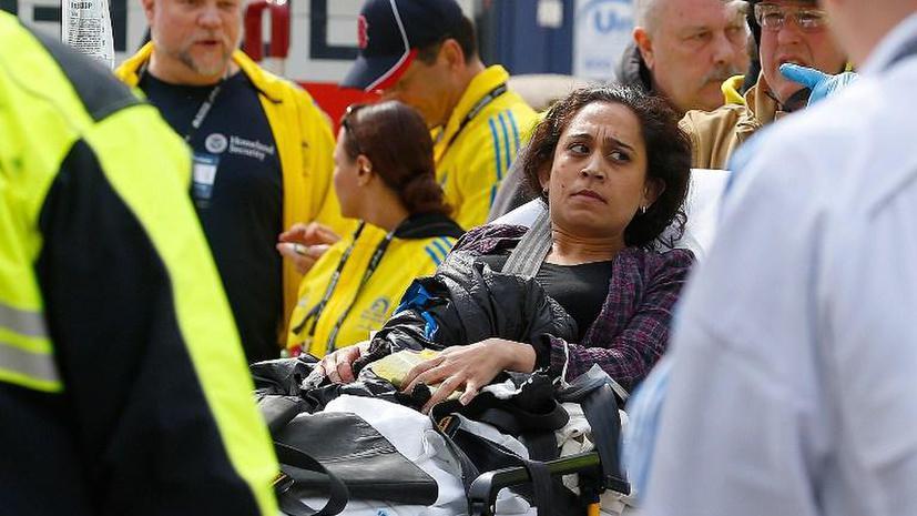 Несколько человек погибли в результате двойного взрыва у финишной линии Бостонского марафона
