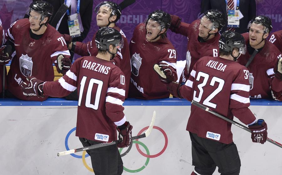 МОК может аннулировать результаты сборной Латвии по хоккею на Олимпиаде в Сочи