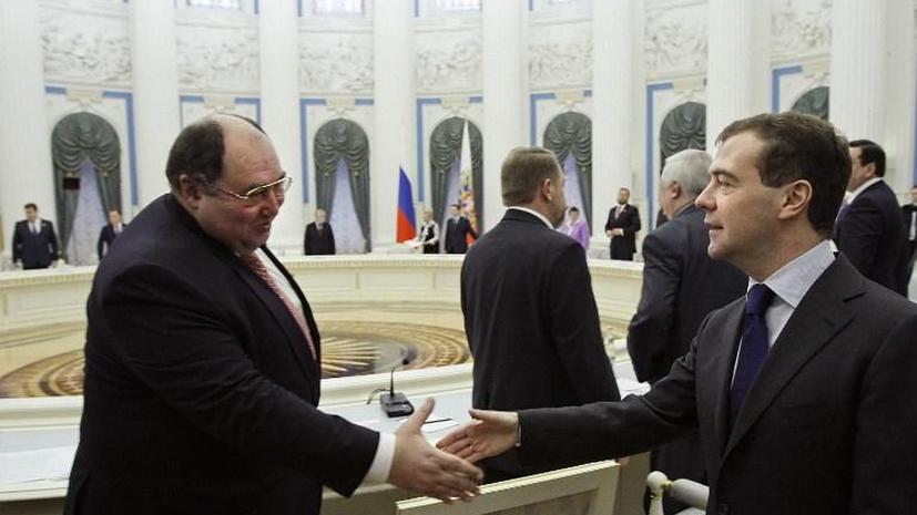 Совет Федерации покинул сенатор Борис Шпигель - СМИ