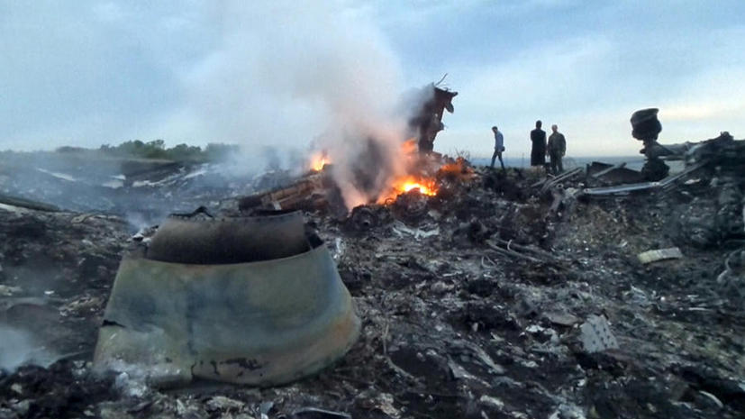 Boeing 777 авиакомпании Malaysia Airlines рухнул на востоке Украины