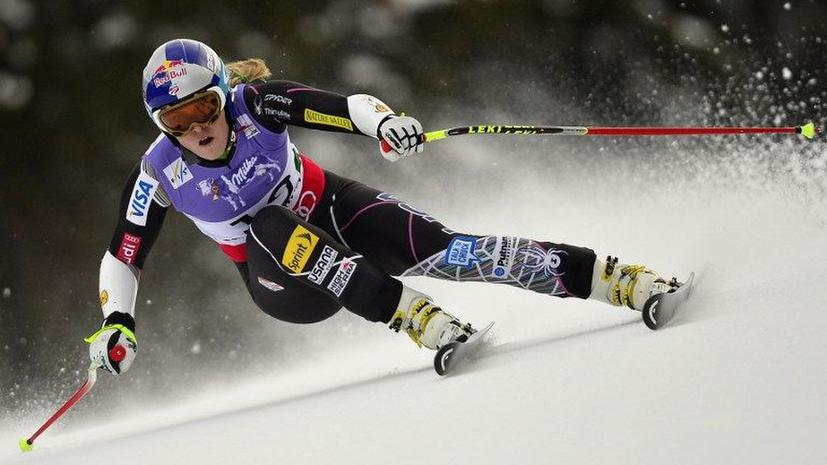 Горнолыжница Линдси Вонн госпитализирована после падения на чемпионате мира