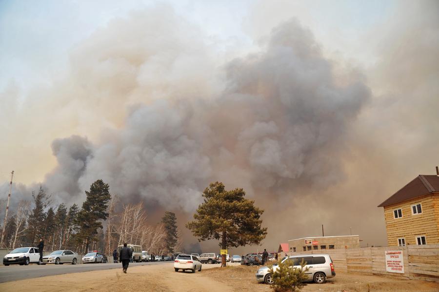 Дым от сибирских пожаров добрался до США