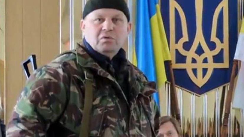 Убит один из лидеров «Правого сектора» Александр Музычко