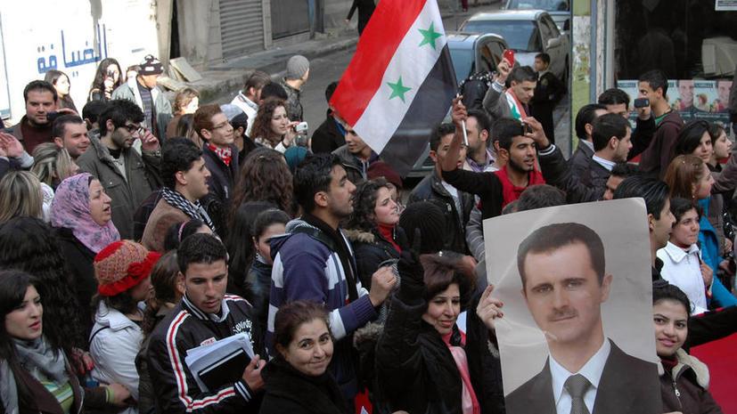 Сирийские войска очистили от боевиков «квартал мучеников» в центре Хомса