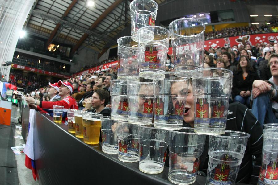 Запрет на продажу пива на российских стадионах может быть отменён