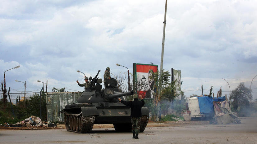 Сирийские войска разгромили боевиков на дороге Хомс-Алеппо