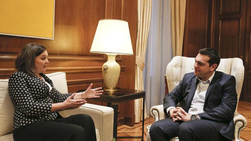 Французские СМИ: США готовят украинский сценарий в Греции