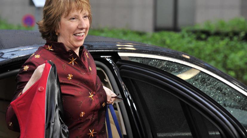 Кэтрин Эштон: Украине грозит экономический коллапс