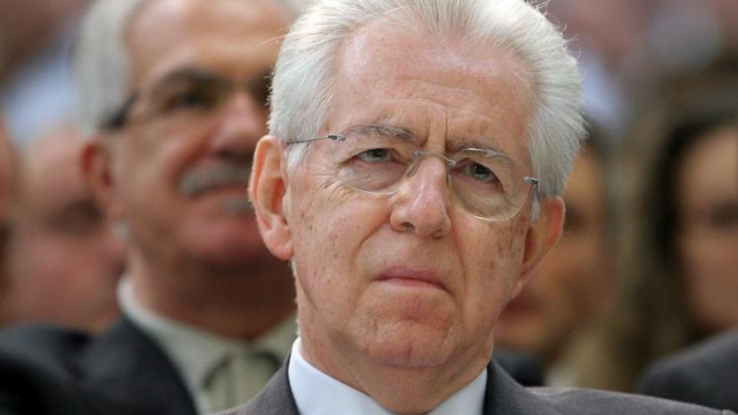 Премьер-министр Италии подал в отставку
