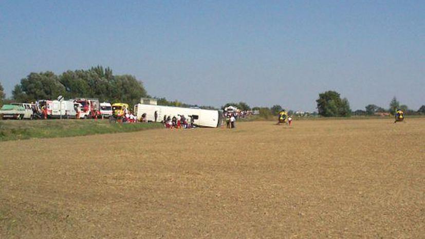 Автобус венгерской баскетбольной команды попал в аварию: погиб тренер, спортсменки пострадали