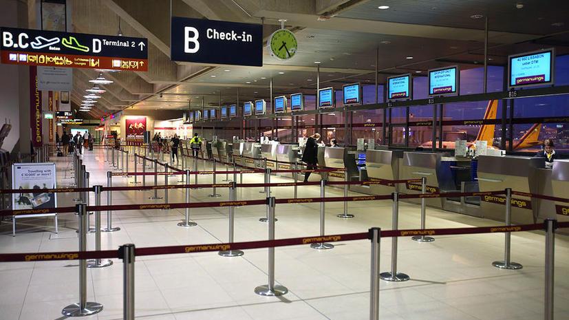 Тысячи туристов не могут вылететь из аэропортов Германии из-за забастовки