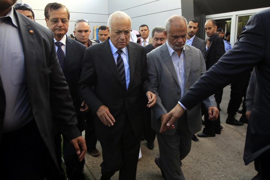 Арабская делегация посетит Западный берег, минуя территорию Израиля