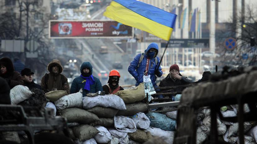 МВД Украины: Оппозиция планировала силовой вариант протеста на Украине