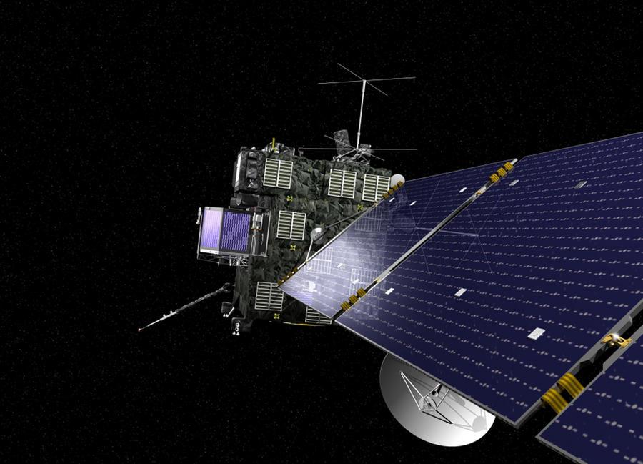 Rosetta приблизилась к комете Чурюмова — Герасименко на максимально близкое расстояние