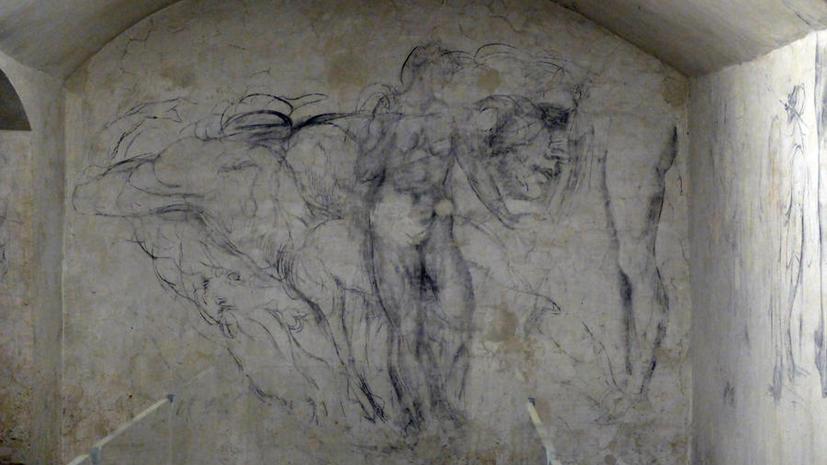 Итальянский музей представил тайные эскизы Микеланджело