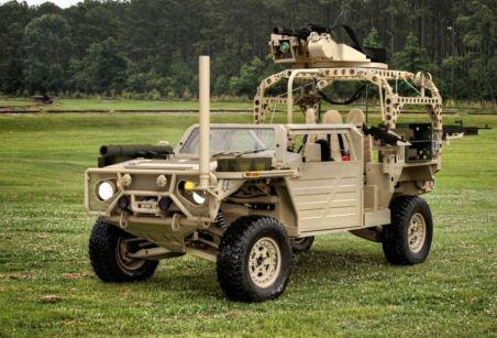 Американский спецназ заменит устаревшие бронемашины