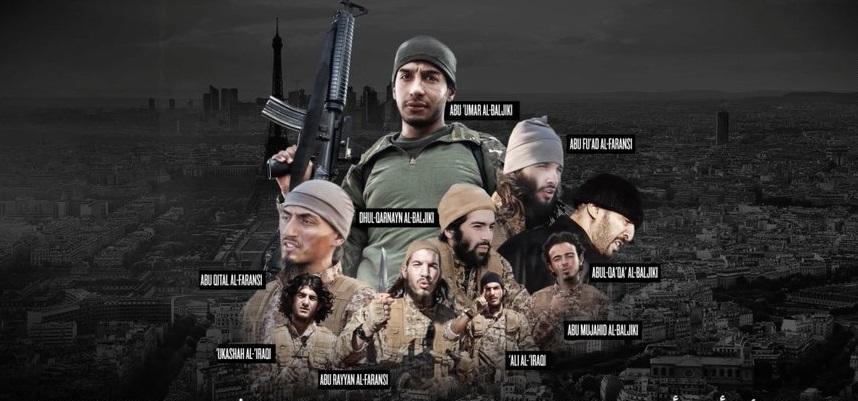Боевики ИГ опубликовали видео, где фигурируют исполнители терактов в Париже