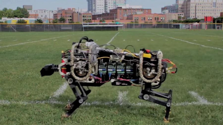 Манёвренность робота-гепарда обеспечили при помощи космических технологий