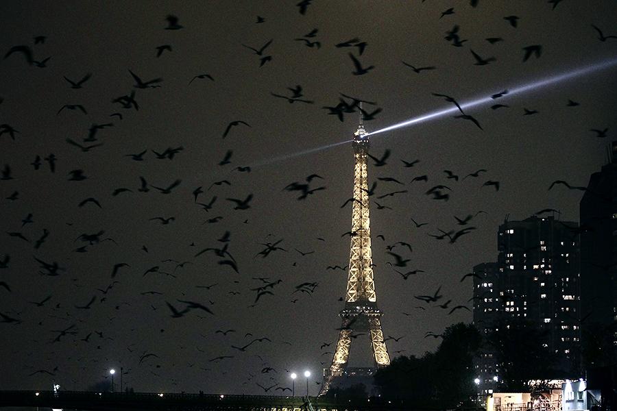 Париж перестанут освещать по ночам