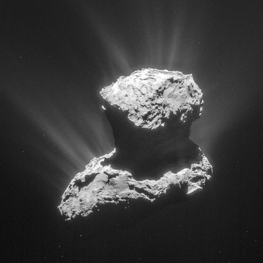 Космос как искусство: кометы в форме утят и облака со вкусом клубники и рома