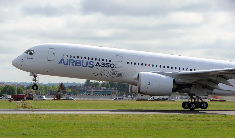 Airbus A350 совершил первый испытательный полёт