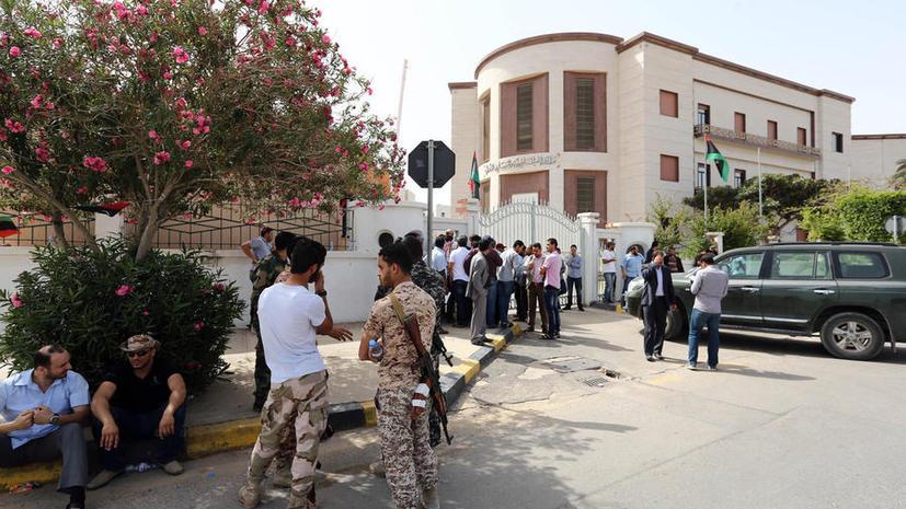 Вооруженные демонстранты окружили здание Минюста Ливии